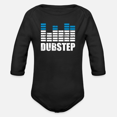 Dubstep Dubstep - Organic Long-Sleeved Baby Bodysuit