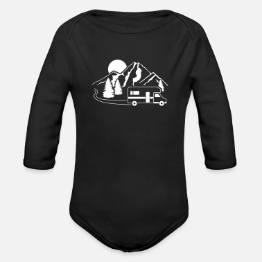 Rv RV - Organic Long-Sleeved Baby Bodysuit