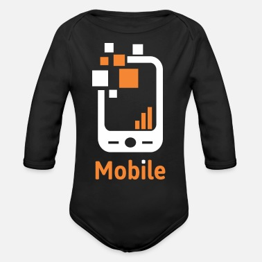 Mobile Mobile - Organic Long-Sleeved Baby Bodysuit
