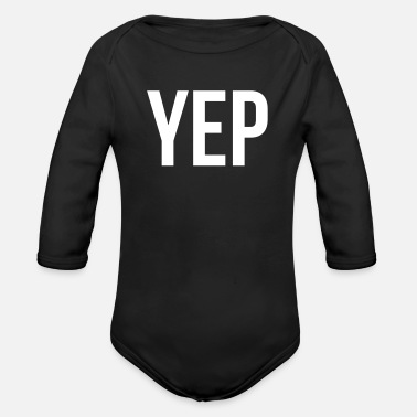 Just Did we just become best friends yep - Organic Long Sleeve Baby Bodysuit