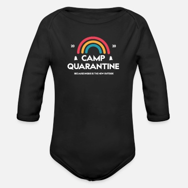 Antisocial Camp - Organic Long-Sleeved Baby Bodysuit