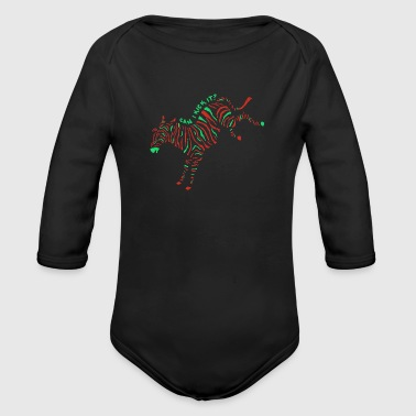 A Tribe Called - Organic Long Sleeve Baby Bodysuit
