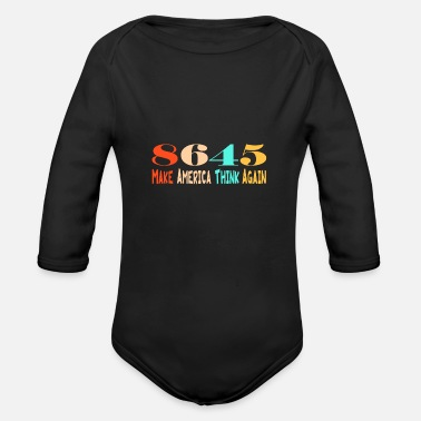 8645 8645 - Organic Long-Sleeved Baby Bodysuit