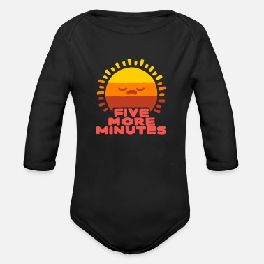 Five More Minutes - Organic Long-Sleeved Baby Bodysuit