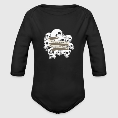 nico di angelo - Organic Long Sleeve Baby Bodysuit