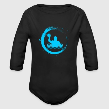 Water Sports water polo sport water sports - Organic Long Sleeve Baby Bodysuit