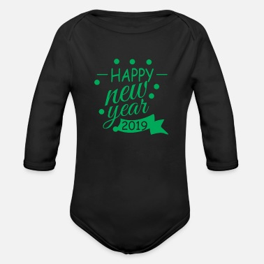 Congratulations Congratulations - Organic Long-Sleeved Baby Bodysuit