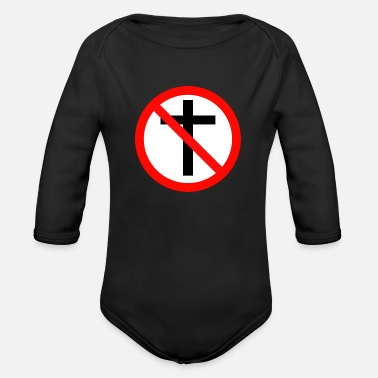 Religion No Religion - Organic Long Sleeve Baby Bodysuit