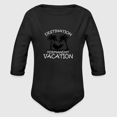 Vacation - Organic Long Sleeve Baby Bodysuit