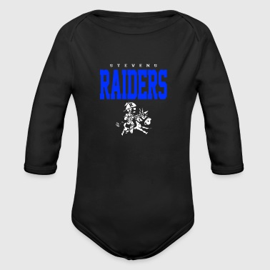 Raiders - Organic Long Sleeve Baby Bodysuit