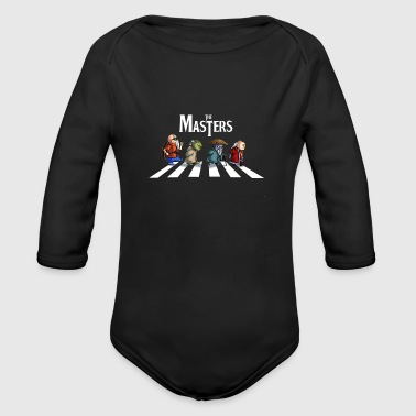 Master the masters - Organic Long Sleeve Baby Bodysuit