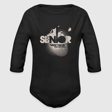 High School Senior Senior Westside High School - Organic Long Sleeve Baby Bodysuit