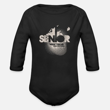 High School Senior Senior Westside High School - Organic Long-Sleeved Baby Bodysuit