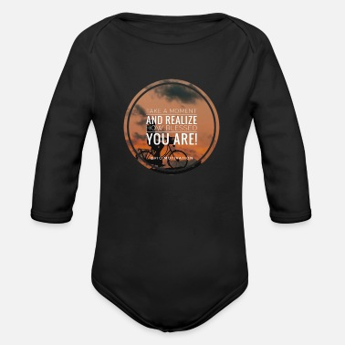 Bless You blessed you - Organic Long Sleeve Baby Bodysuit