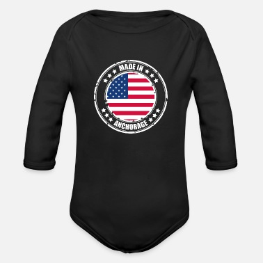 Anchorage ANCHORAGE - Organic Long-Sleeved Baby Bodysuit