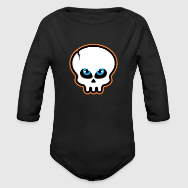 Trick or Treat - Organic Long Sleeve Baby Bodysuit