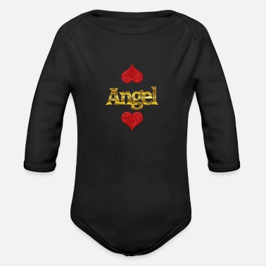Angel Angel - Organic Long Sleeve Baby Bodysuit