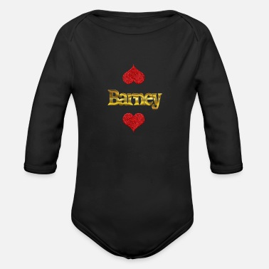 Barney Barney - Organic Long-Sleeved Baby Bodysuit