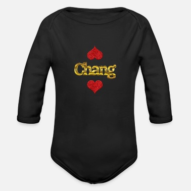 Change Chang - Organic Long Sleeve Baby Bodysuit