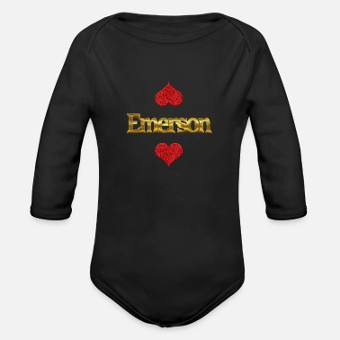Emerson Emerson - Organic Long-Sleeved Baby Bodysuit