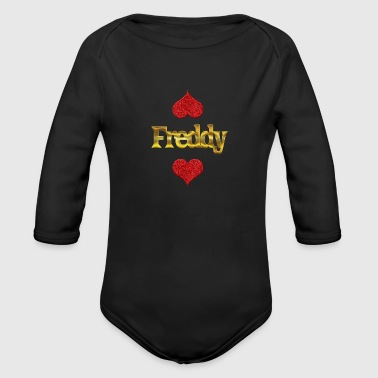 Freddy Freddy - Organic Long Sleeve Baby Bodysuit