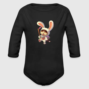 Teemo League of Legends lol - Organic Long Sleeve Baby Bodysuit