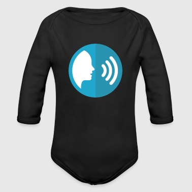 Sound - Organic Long Sleeve Baby Bodysuit