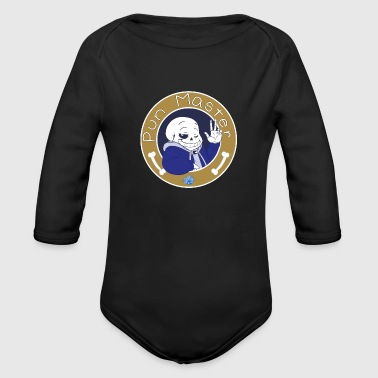 The Pun Master - Organic Long Sleeve Baby Bodysuit