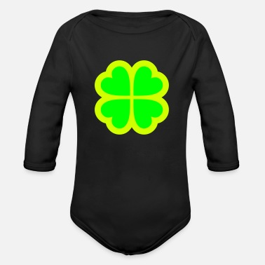 Symbol Symbol - Organic Long-Sleeved Baby Bodysuit