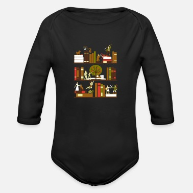 Novel A Novel Idea - Organic Long Sleeve Baby Bodysuit