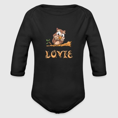 Lovie Owl - Organic Long Sleeve Baby Bodysuit