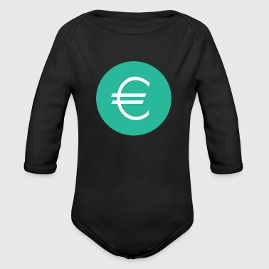 Euro - Organic Long Sleeve Baby Bodysuit
