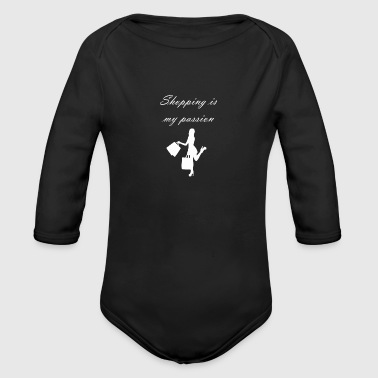 Shopping is my passion shop - Organic Long Sleeve Baby Bodysuit