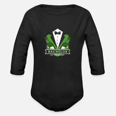 Wedding Party bachelorette Party stag party wedding marriage - Organic Long Sleeve Baby Bodysuit