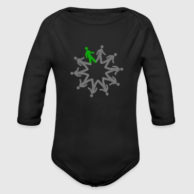 eco - Organic Long Sleeve Baby Bodysuit