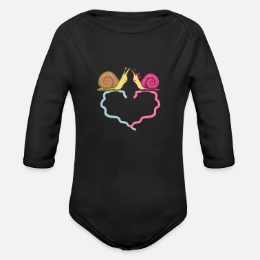 Couple Love Couples, love, couple - Organic Long Sleeve Baby Bodysuit