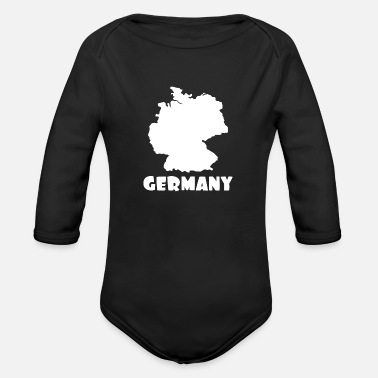 Germany Germany - Organic Long-Sleeved Baby Bodysuit
