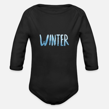 Winter Winter - Organic Long Sleeve Baby Bodysuit
