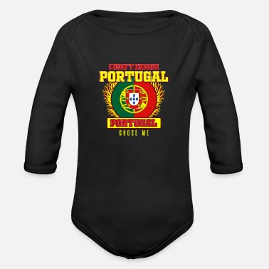 Portugal portugal - Organic Long Sleeve Baby Bodysuit
