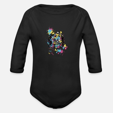 World Trade Centre Printed - Organic Long-Sleeved Baby Bodysuit