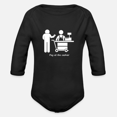 Pay Pay at the cashier - Organic Long-Sleeved Baby Bodysuit