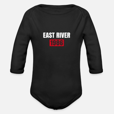 East Frisia EAST RIVER - Organic Long-Sleeved Baby Bodysuit
