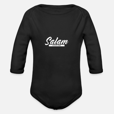 Salam Salam everyone - Organic Long-Sleeved Baby Bodysuit
