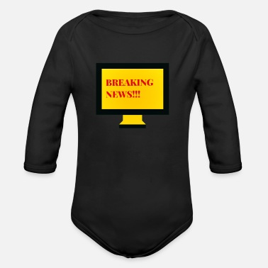 Television Television - Organic Long-Sleeved Baby Bodysuit