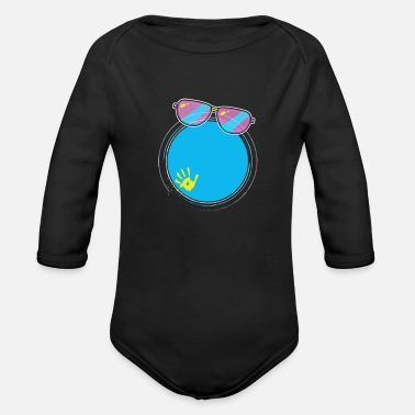 Holiday Design - Organic Long-Sleeved Baby Bodysuit