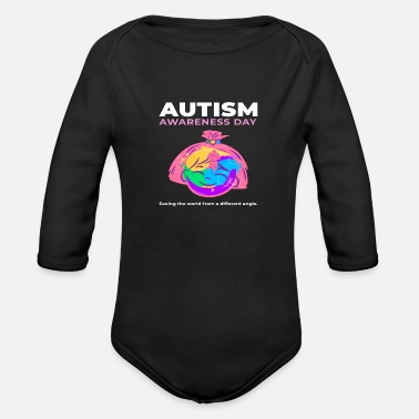 Autism Awareness Day Autism Awareness Day - Autism - Organic Long-Sleeved Baby Bodysuit