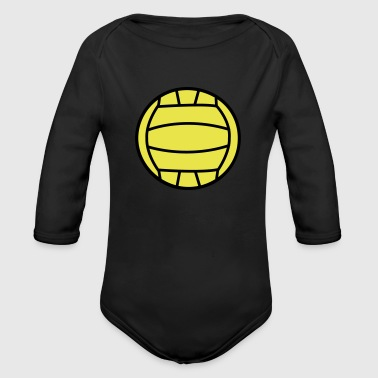 2541614 15552611 volley - Organic Long Sleeve Baby Bodysuit