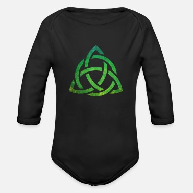 Celtic Celtic Knot - Organic Long-Sleeved Baby Bodysuit