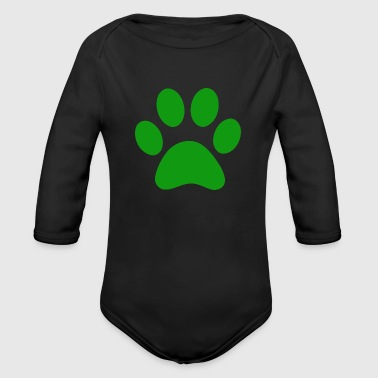 PAW - Organic Long Sleeve Baby Bodysuit