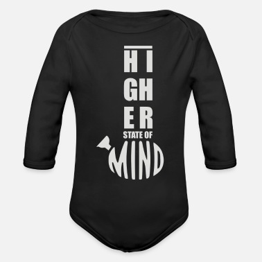 Higher State Of Higher State of Mind - Organic Long-Sleeved Baby Bodysuit
